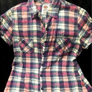 Dickies Short Sleeve Flannel